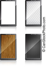 Mobile phones with different screen