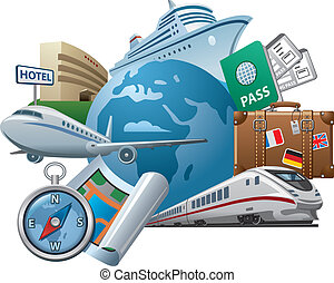 Travel concept icon - Travel and tourism concept icon