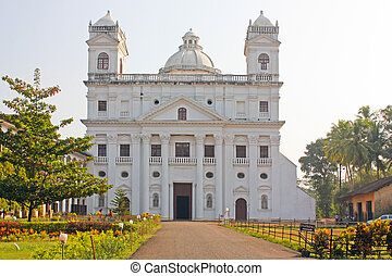 Church of St Cajetan, was built in 1661, Old Goa city, state...