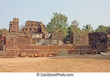 Ruins of St Augustine Church, Goa India