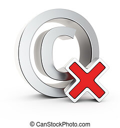 Unregistered copyright - Metallic copyright symbol with...