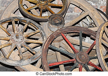骨董品, ワゴン, 車輪