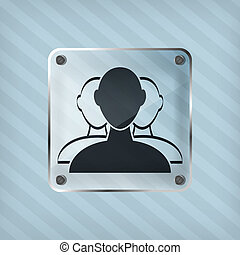 transparency user group web icon