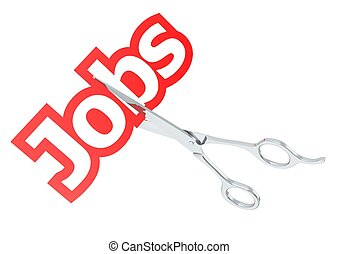 Cut jobs - Rendered artwork with white background