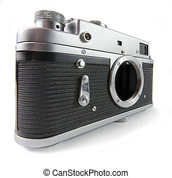 Classic 35mm camera body - super wide angle shot