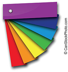 rainbow colour book - a rainbow colour book