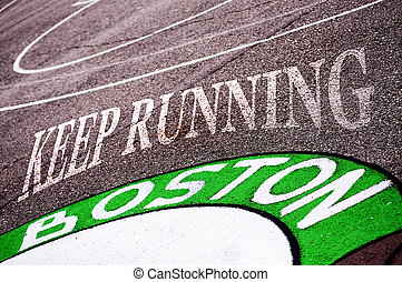 Boston - Keep running ,Boston