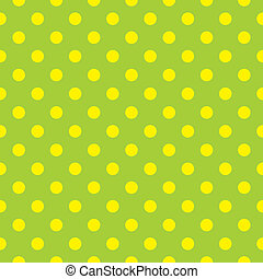 Seamless vector spring dots pattern