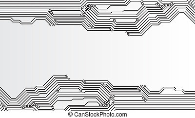 Circuit board background EPS10 vector