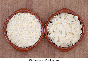 Dessicated Coconut and Flakes - Coconut in dessicated and...