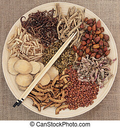Chinese Herbal Mediicne - Traditional chinese herbal...