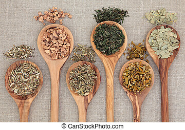 Healing Herbs - Herb selection for alternative health...
