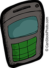 Small Cellular Telephone - Small generic cellular telephone...