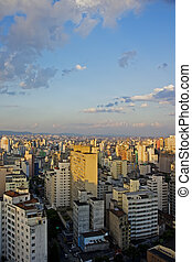 Twilight in Sao Paulo - Twilight in the city of Sao Paulo...