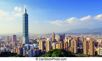 Taipei Time Lapse - Day time time lapse in Taipei, Taiwan