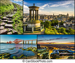 Postcard from sunny Scotland in summer