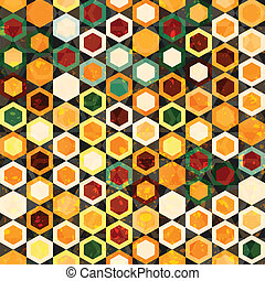 Abstract cells seamless texture