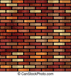 grunge red brick wall seamless