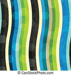 křivka, barevný, seamless