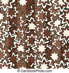 abstract star seamless