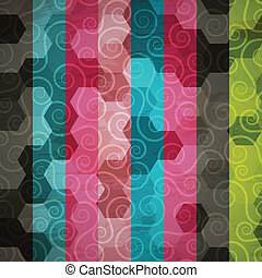 abstract spiral pattern