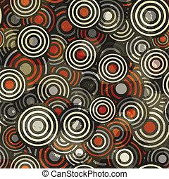 abstract circle seamless