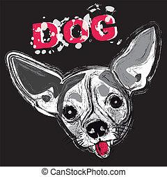 Dog,animal,race, to bark,pug, face - Dog, animal, race, to...