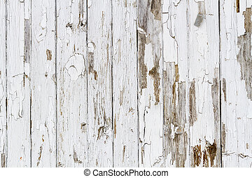 Old white weathered wooden background no 6