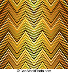 Seamless gold zigzag pattern - Seamless pattern of golden...