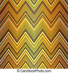 Seamless gold zigzag pattern