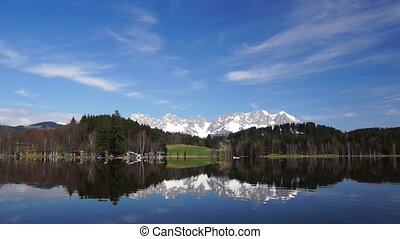 Lake in Tirol - real-time