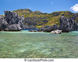 El Nido - Untouched nature in El Nido, Palawan, Philippines