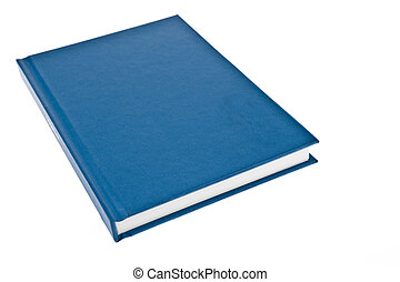 Blue cover book