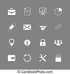 Icon set for Web and Mobile