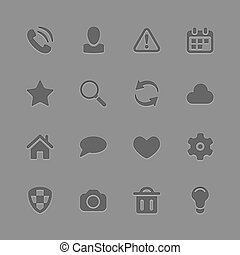 Universal Outline Icons