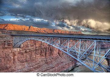Navajo Bridge - HDR