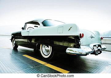Vintage car - Vintage V8 Car