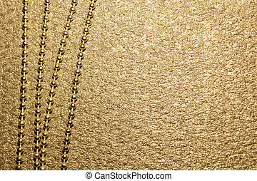 chain on a black background