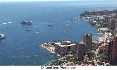 Monaco Montecarlo cityscape
