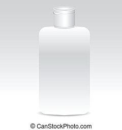 Bottle of shampoo