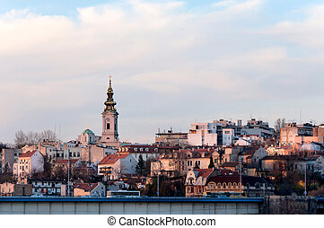 Belgrade - View of the capital city of Serbia, Belgrade