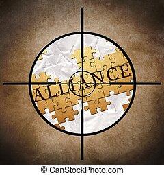 aliança, alvo