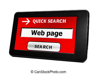 Search for Web page