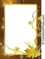 1568 - golden frame background