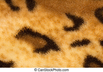 background from a fabric tiger skin