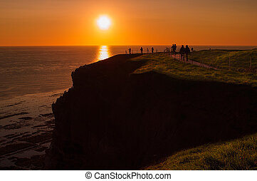 Helgoland - German island in the North sea - Helgoland -...