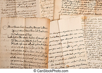 manuscripts of the 1700/1800 century