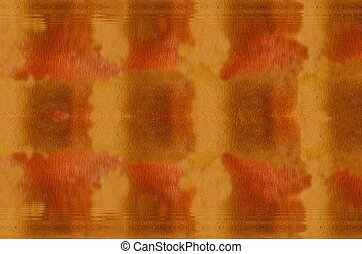Orange brown background with water ripple - Abstract orange...
