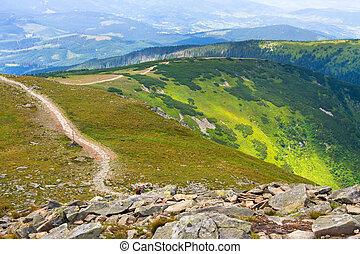 Babia Gora mountain, Poland