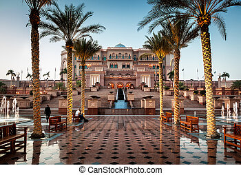 Abu dhabi palace - Emirates palace is one of the most...